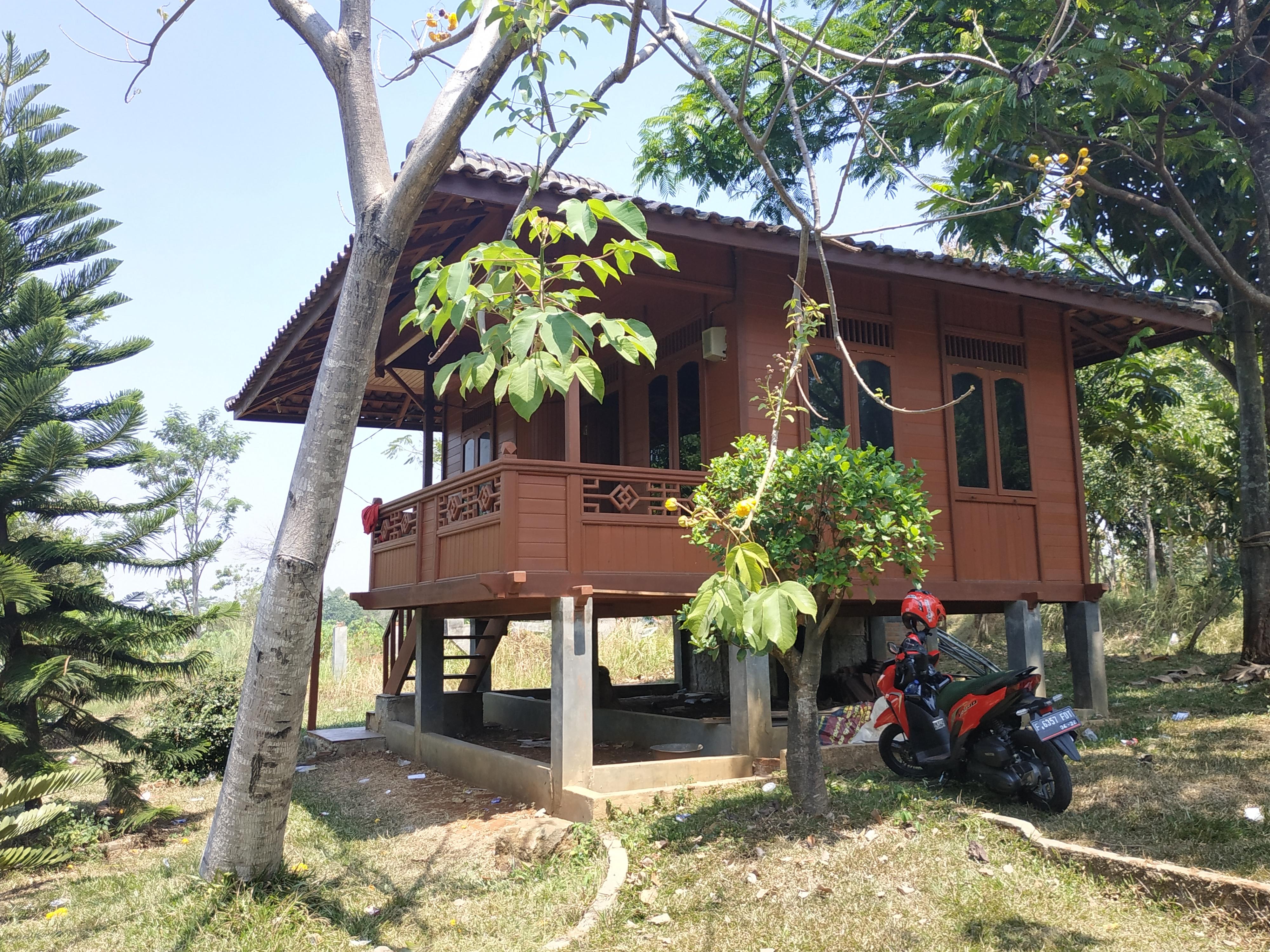 Rumah Kayu Tipe 36 (6 x 6) - Tipe B