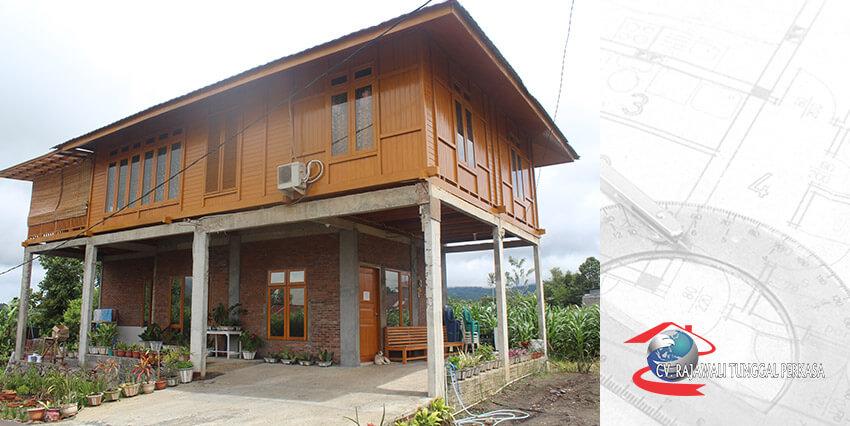 Rumah Kayu Tipe 96 (8×12)