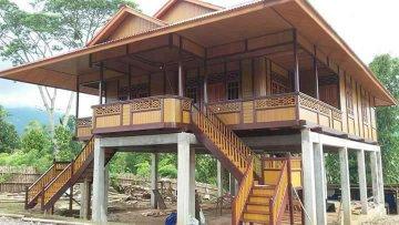 Harga Rumah Kayu Tipe 120 m2 ( 8m x 15m)