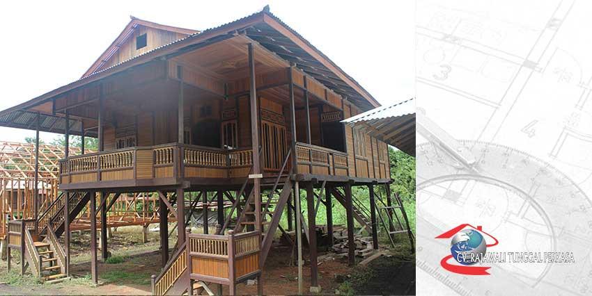 Rumah Kayu Tipe 120 (8 x 15)