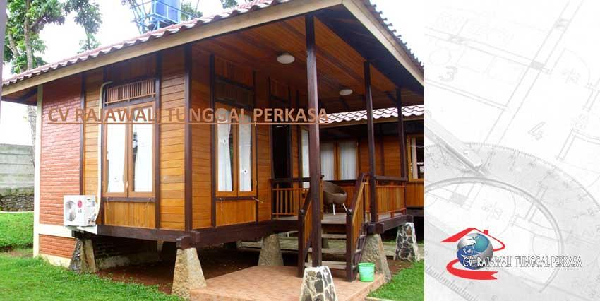 Harga Rumah Kayu Tipe 30 m2 (6m x 5m)