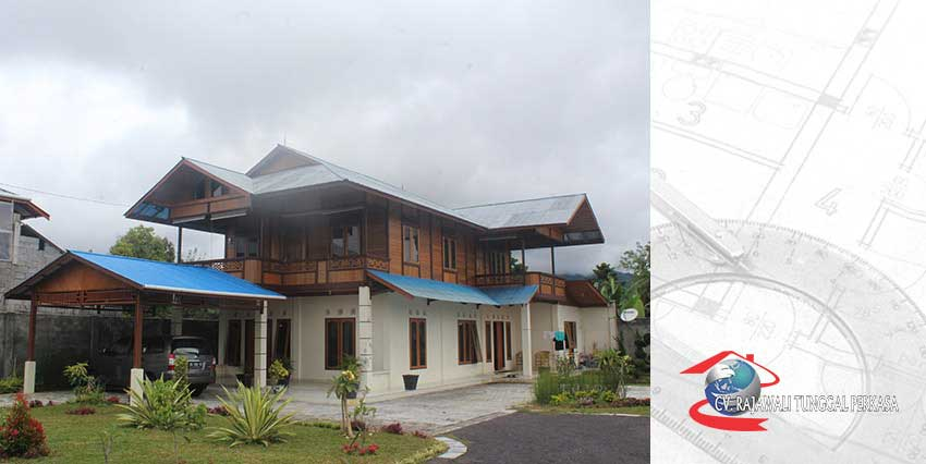 Rumah Kayu Tipe 117