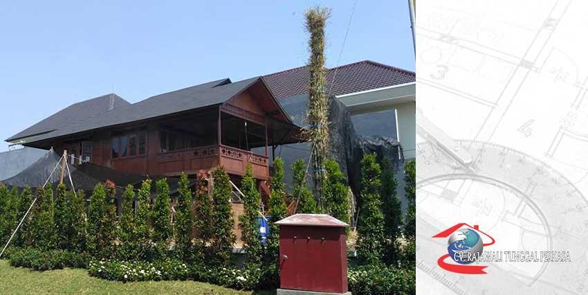 Harga Rumah Kayu Tipe 96 m2 (8m x 12m)